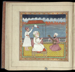 Prayer Book of Rani Jindan, 1828-30 reverse